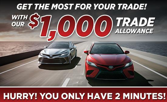 $1,000 Trade Allowance!
