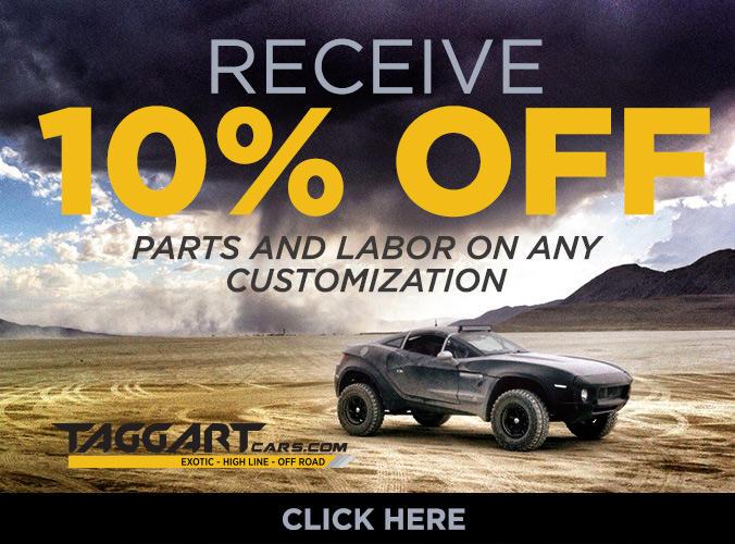 10% Off Customizations