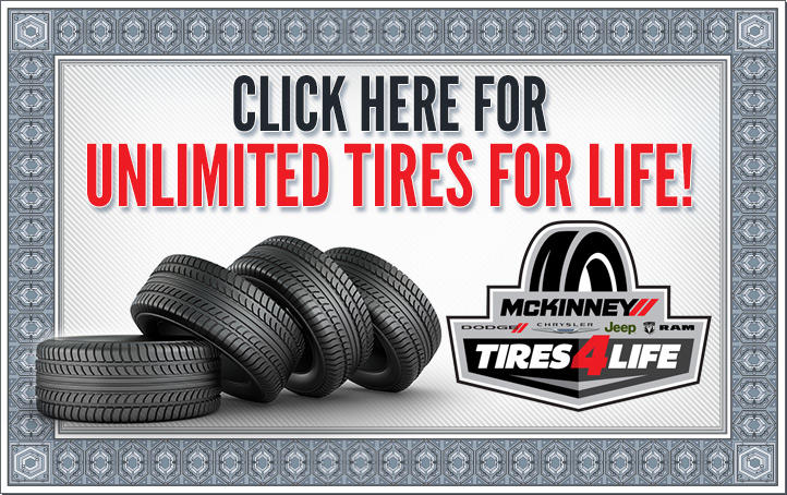 Click here for unlimited tires for life!