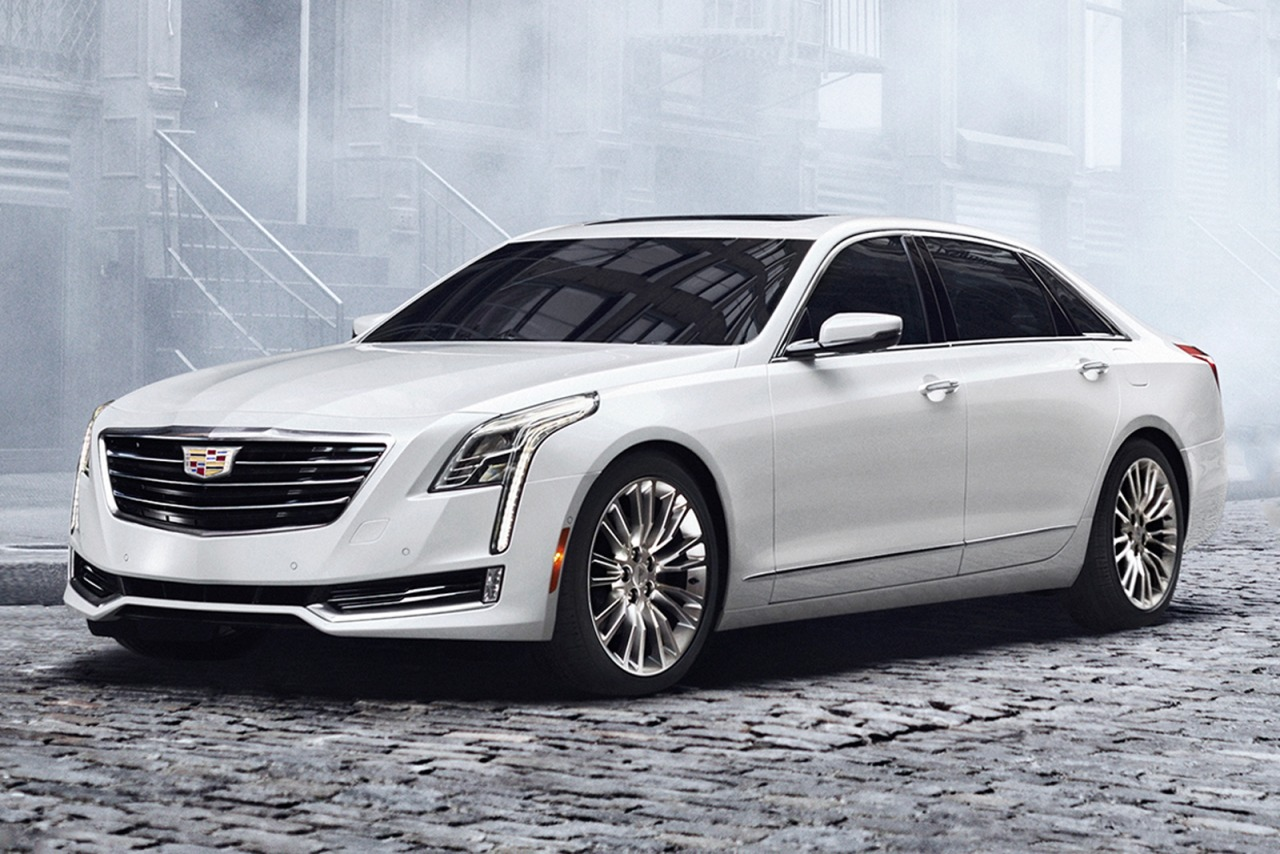 7 New Luxury Cars Coming Out For 2016: New 2016 Cadillac CT6 3.6L Luxury 20053