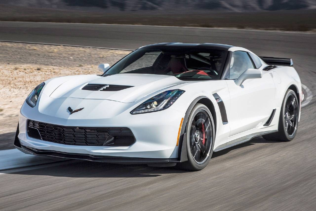All New 2017 Chevrolet Corvettes