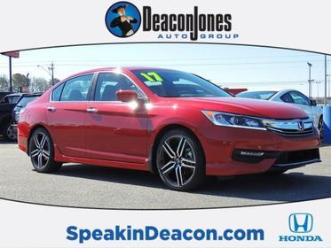 2017 Honda Accord Sedan SPORT 4dr Car Goldsboro NC