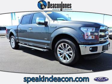 """2015 Ford F-150 2WD SUPERCREW 145"""" LARIAT Greenville NC"""
