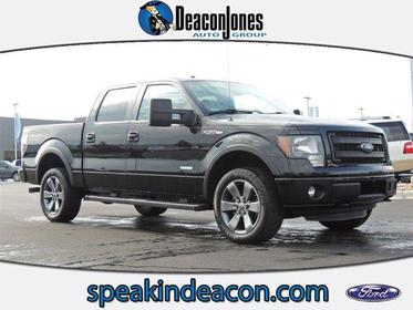 """2013 Ford F-150 4WD SUPERCREW 145"""" FX4 Greenville NC"""