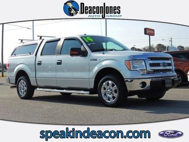 """2014 Ford F-150 2WD SUPERCREW 145"""" XLT Greenville NC"""