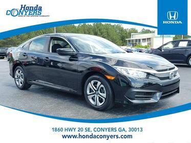 2017 Honda Civic Sedan LX 4dr Car Conyers GA