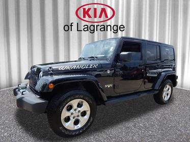 2014 Jeep Wrangler Unlimited SAHARA 4x4 Sahara 4dr SUV Lagrange GA