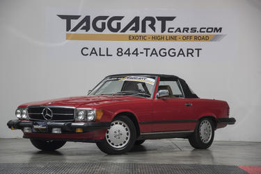 1988 Mercedes-Benz 560 SL COUPE Convertible Cary NC