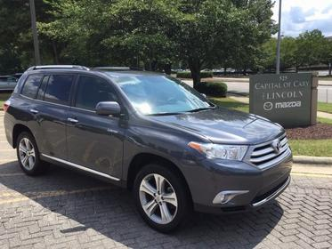 2013 Toyota Highlander LIMITED Cary NC