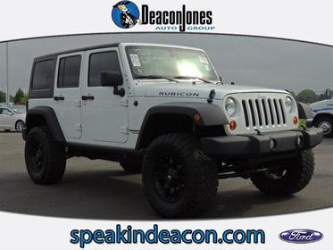 2012 Jeep Wrangler Unlimited 4WD 4DR RUBICON Goldsboro NC