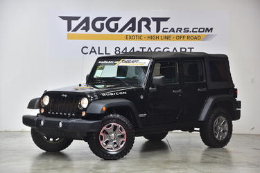 2014 Jeep Wrangler UNLIMITED RUBICON 4WD Sport Utility Cary NC