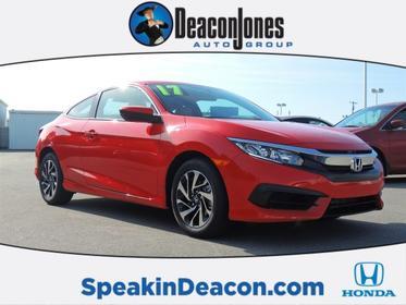 2017 Honda Civic Coupe LX-P Goldsboro NC