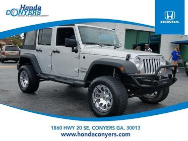 2011 Jeep Wrangler Unlimited UNLIMITED SPORT Convertible Conyers GA