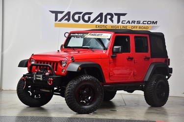 2015 Jeep Wrangler UNLIMITED SPORT 4WD Sport Utility Cary NC