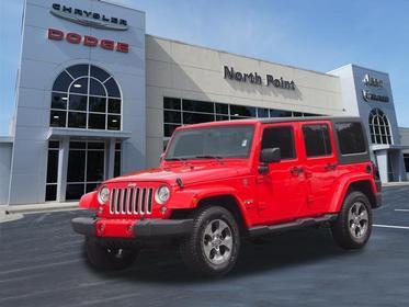 2017 Jeep Wrangler Unlimited SAHARA Greensboro NC