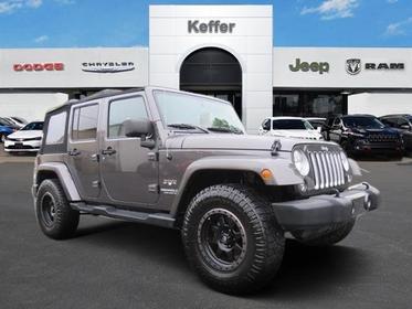 2016 Jeep Wrangler Unlimited SAHARA Convertible Charlotte NC