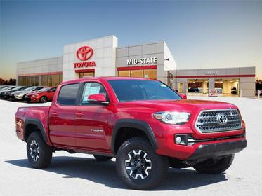 2017 Toyota Tacoma TRD OFF-ROAD 4x4 TRD Off-Road 4dr Double Cab 5.0 ft SB 6A Asheboro NC