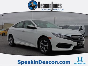 2017 Honda Civic Sedan LX Goldsboro NC
