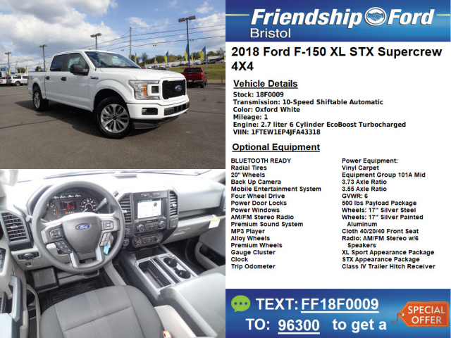 2018 ford 7 3.  ford sb bristol tn 2018 ford f150 xl 4x4 4dr supercrew 55 ft with ford 7 3