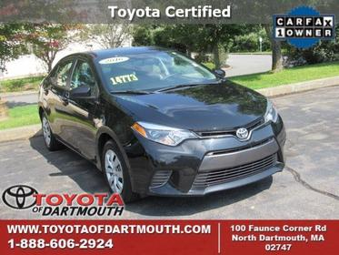 2016 Toyota Corolla LE North Dartmouth MA