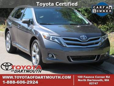 2014 Toyota Venza LIMITED North Dartmouth MA