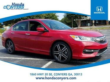 2017 Honda Accord Sedan SPORT 4dr Car Conyers GA