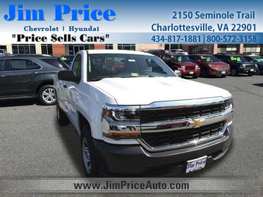 2018 Chevrolet Silverado 1500 WORK TRUCK Long Bed Charlottesville VA