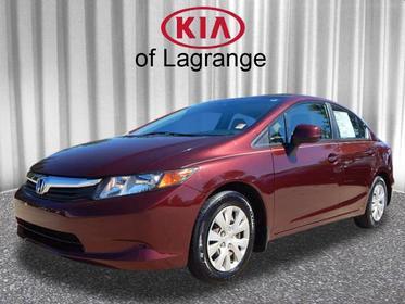 2012 Honda Civic LX LX 4dr Sedan 5A Lagrange GA