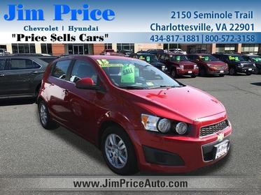 2015 Chevrolet Sonic LT Hatchback Charlottesville VA