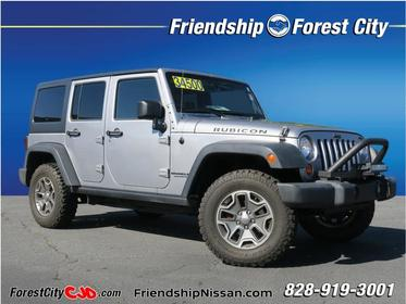 2013 Jeep Wrangler Unlimited RUBICON 4x4 Rubicon 4dr SUV Forest City NC