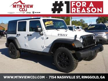 2017 Jeep Wrangler Unlimited WILLYS WHEELER 4x4 Sport 4dr SUV Ringgold GA