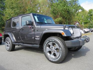 2017 Jeep Wrangler Unlimited SAHARA Convertible Charlotte NC