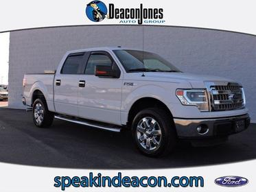 "2014 Ford F-150 2WD SUPERCREW 145"" XLT Greenville NC"