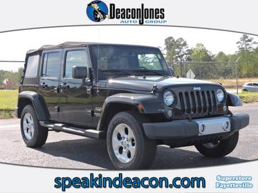 2015 Jeep Wrangler Unlimited  Convertible Fayetteville NC