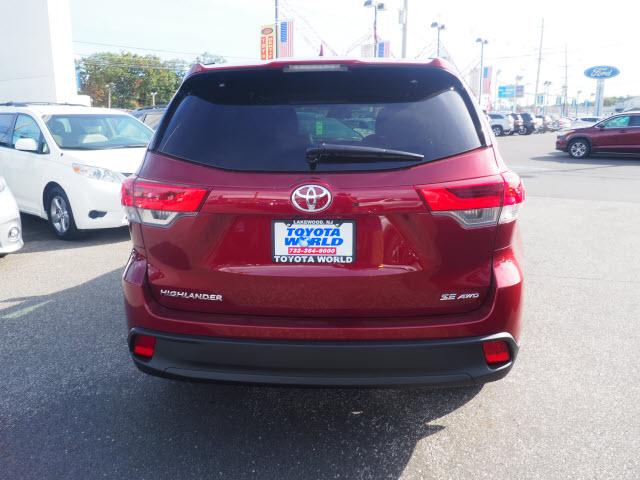 ... 2018 Toyota Highlander SE AWD SE 4dr SUV Lakewood Township NJ ...
