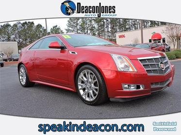 2011 Cadillac CTS Coupe PERFORMANCE 2dr Car Clinton NC