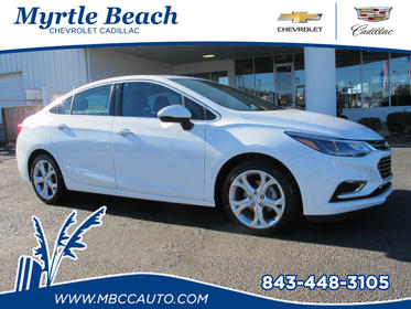 2017 Chevrolet Cruze PREMIER AUTO Premier Auto 4dr Sedan Myrtle Beach SC