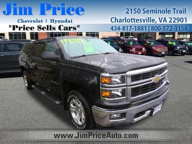 2015 Chevrolet Silverado 1500 LT Short Bed Charlottesville VA