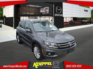 2015 Volkswagen Tiguan 4 MOTION SE WITH APPEARANCE PACKAGE PANORAMIC ROOF Jackson Heights New York