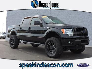"2014 Ford F-150 4WD SUPERCREW 145"" STX Greenville NC"