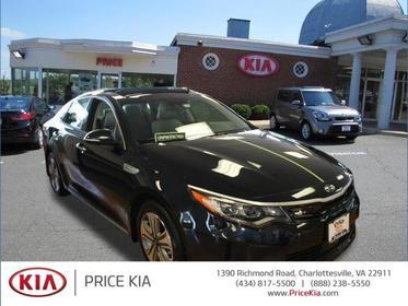 2017 Kia Optima Plug-In Hybrid EX 4dr Car Charlottesville VA