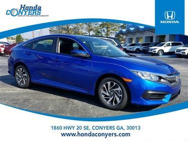 2017 Honda Civic Sedan EX 4dr Car Conyers GA