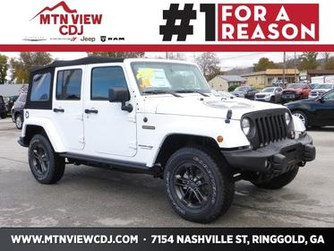 2018 Jeep Wrangler Unlimited FREEDOM EDITION 4x4 Freedom Edition 4dr SUV Ringgold GA