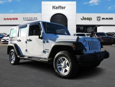 2013 Jeep Wrangler Unlimited SPORT RHD Convertible Charlotte NC