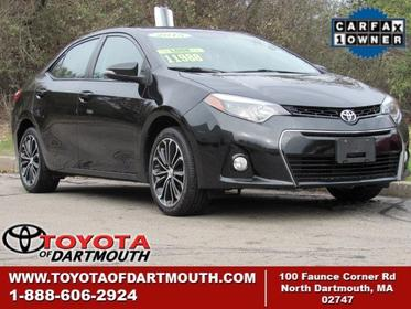 2015 Toyota Corolla S PLUS North Dartmouth MA