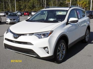 2018 Toyota RAV4 LIMITED Sport Utility Valdosta GA