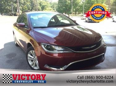 2016 Chrysler 200 LIMITED Charlotte NC