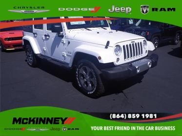2017 Jeep Wrangler Unlimited SAHARA 4X4 Easley SC