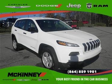 2017 Jeep Cherokee SPORT FRONT-WHEEL DRIVE Easley SC
