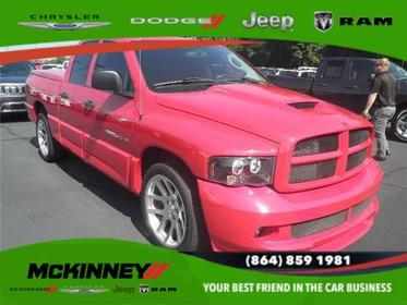 2005 Dodge Ram SRT-10 SRT-10 4X2 QUAD CAB 140.5 IN. WB Easley SC